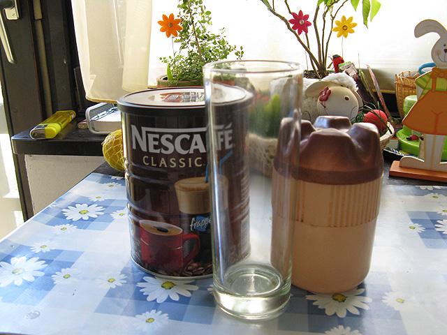 Nescafé frappé elkészítése