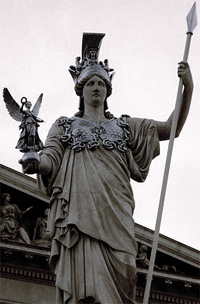 Athene a görög isten